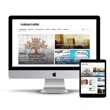 Diseño Página web Nabarralde