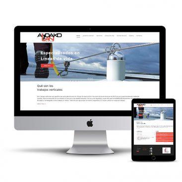 Diseño Página web Aldakolan