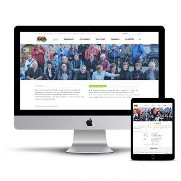 Diseño Página web Arkupeak