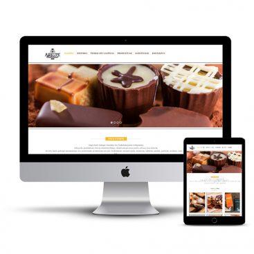 Diseño Página web pasteleria Arkupe