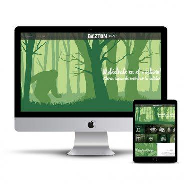 Diseño Página web Escape Room Baztan