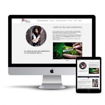 Diseño Página web Cathy Durrenbach
