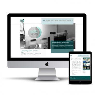 Diseño Página web Clinica Dental Pio XII