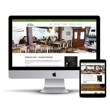 Diseño Página web sidrerias
