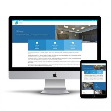 Diseño Página web Funeraria Baztan Bidasoa