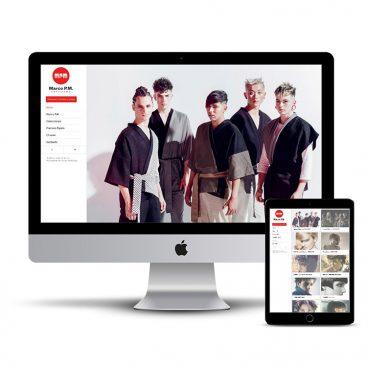Diseño Página web peluquería en Pamplona MarcoPM