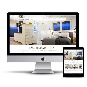 Diseño Página web Markullu