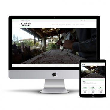 Diseño Página web Marmoles Soule