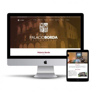 Diseño Página web hotel Palacio Borda Navarra