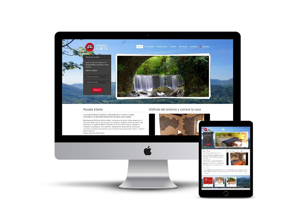 Diseño Página web Posada elbete