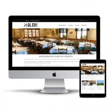 Diseño Página web restaurantes Navarra