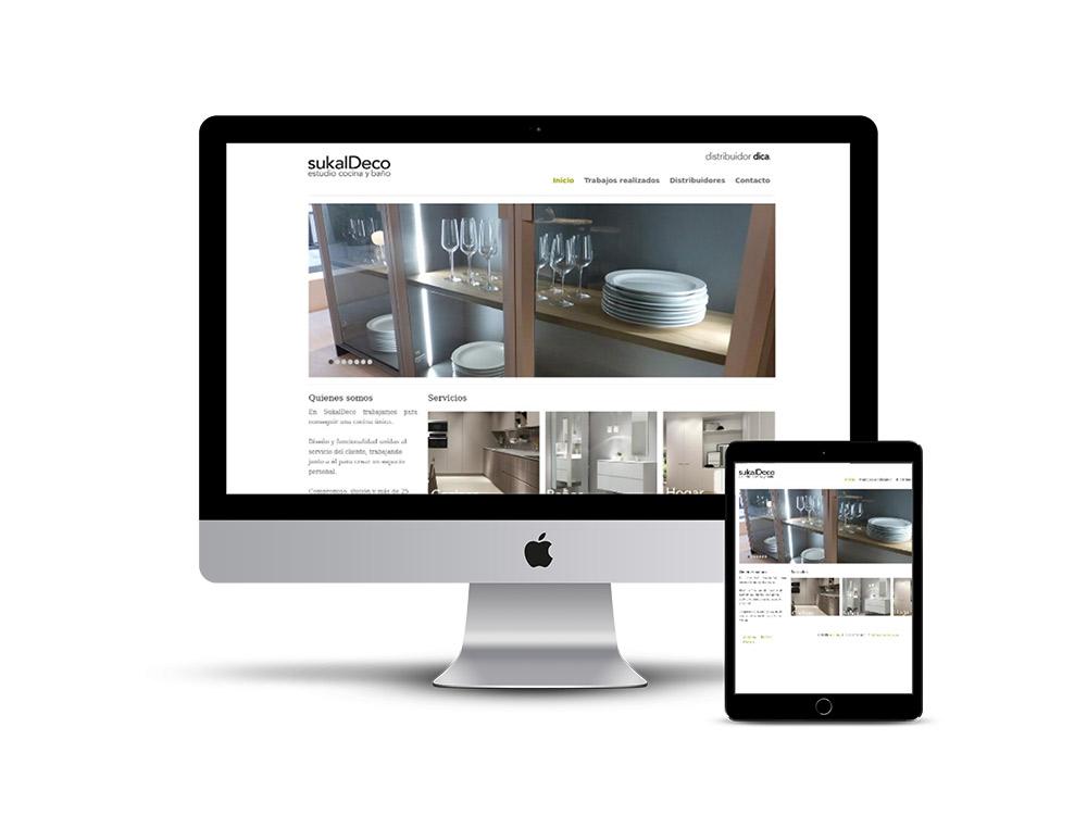 Diseño Página web Sukaldeco