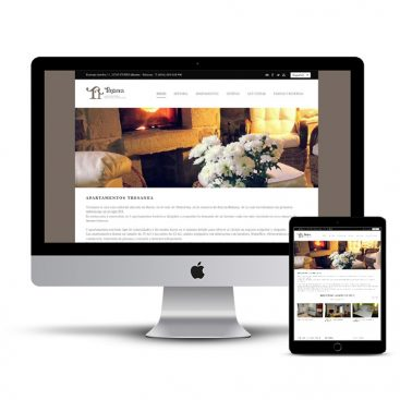 Diseño Página web Tresanea