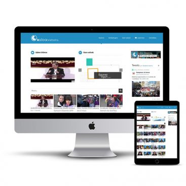 Diseño Página web Xaloa Telebista
